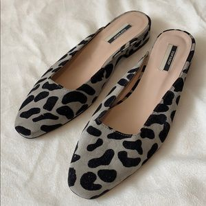 Topshop slip on shoes with small heel